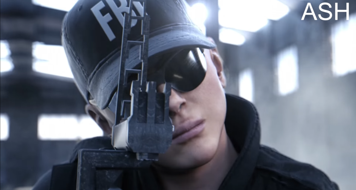 femme_jeux_videos_episode_deux capture d'écran Rainbow Six Siege
