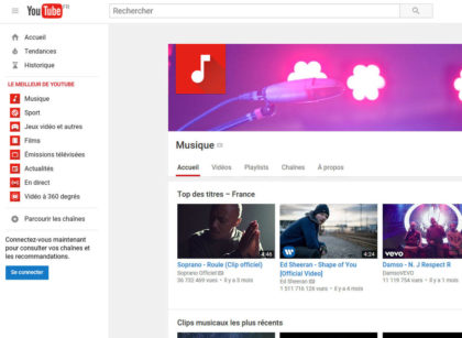 capture d'écran du site youtube 10_ans_youtube_france